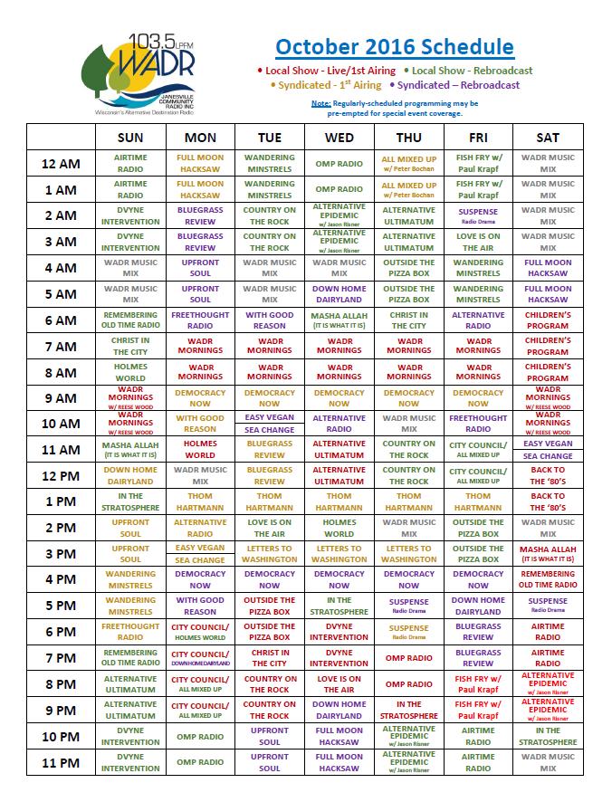schedule-2016-10